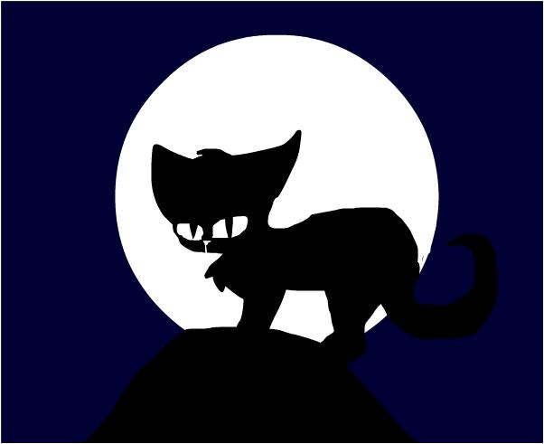 ч1рная кошка
