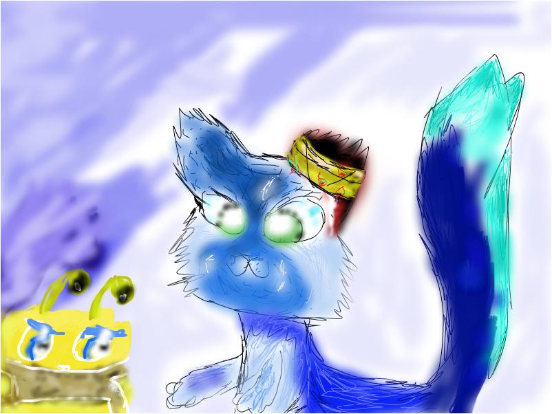 Котик  и Пчелка