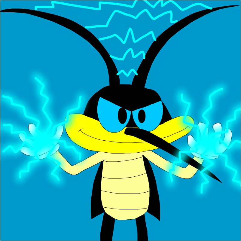 Sparky The Cockroach