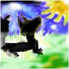 Черная волчица