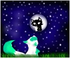 moon luna and rainpie