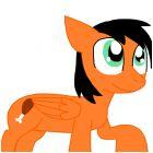 Dee Dee as a Pony (Pegasus)