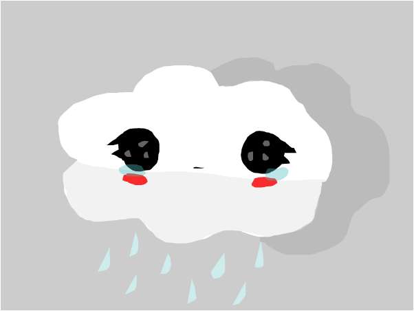 грусное облачко