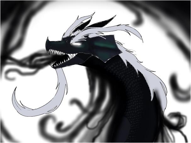The Black Smoke Dragon.