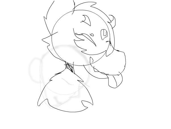 A wip for my oc, and hello im new