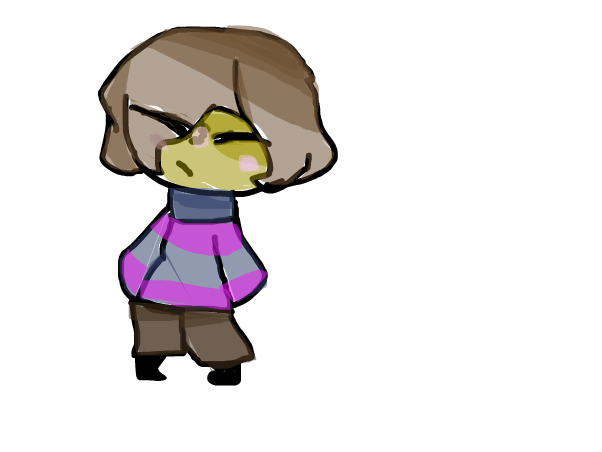 Frisk the human.