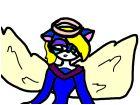 cat angel. for caticorn
