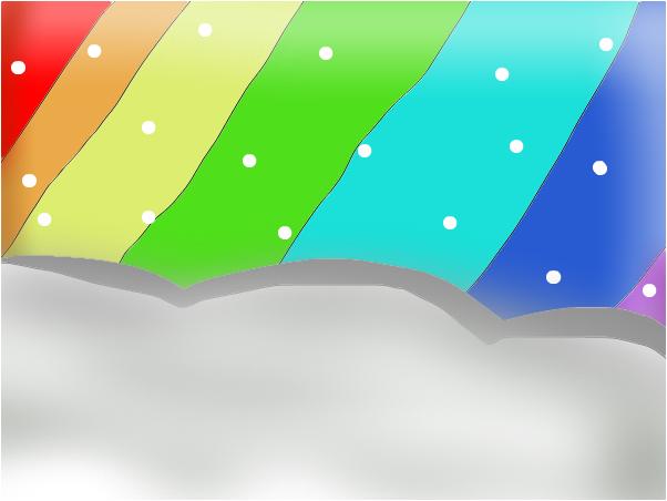 радуга единственая - дорога к раю