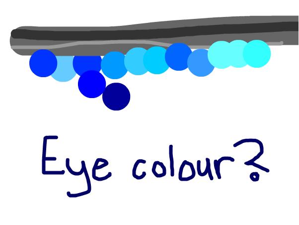 Eye colour?