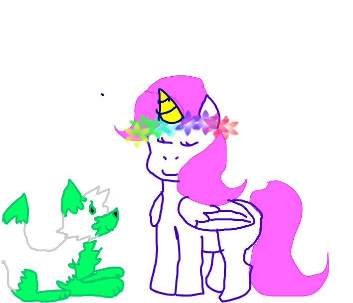 portada unicornio y pain pie