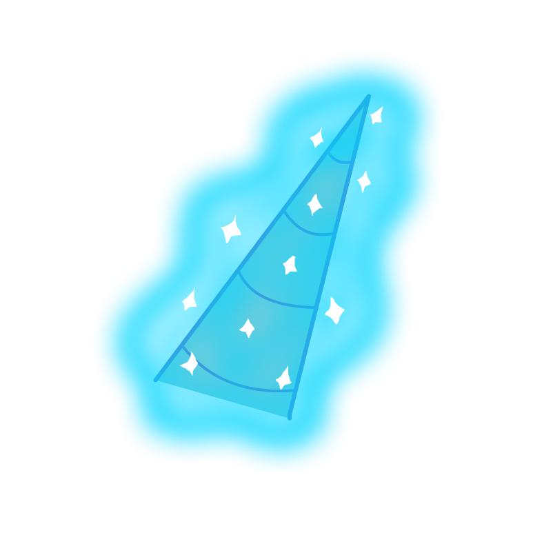 Sniffles' Horn with Magic Aura / Sparkle