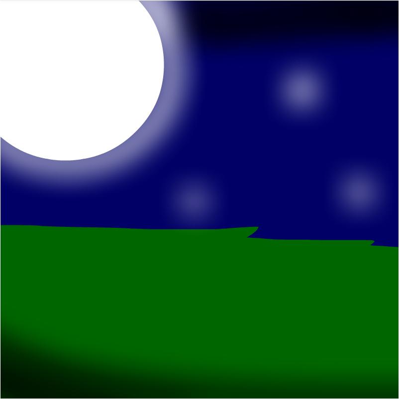 Grass at Night