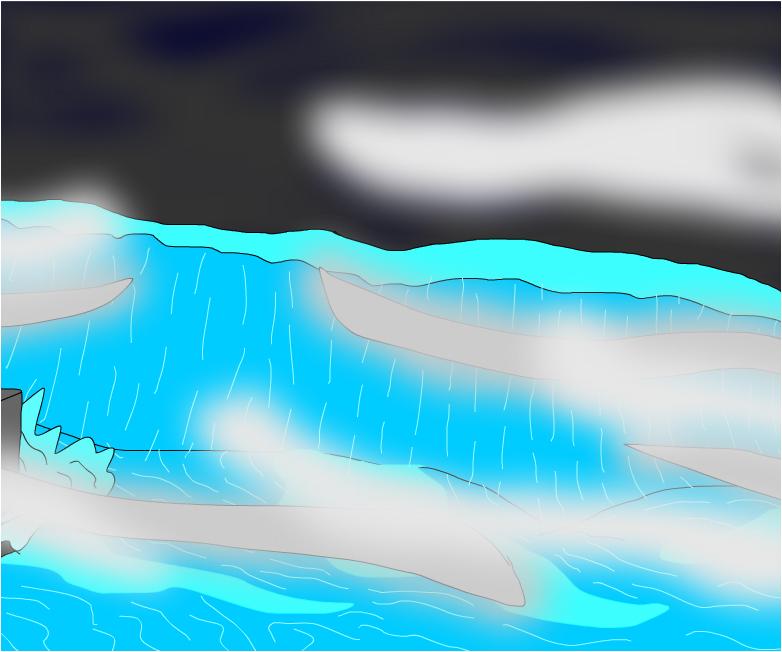 the nyc wave tsunami in earth!