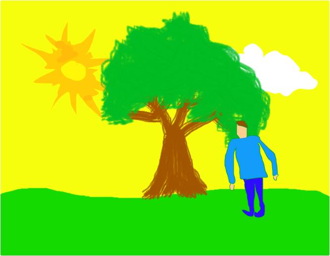 дерево иии человек