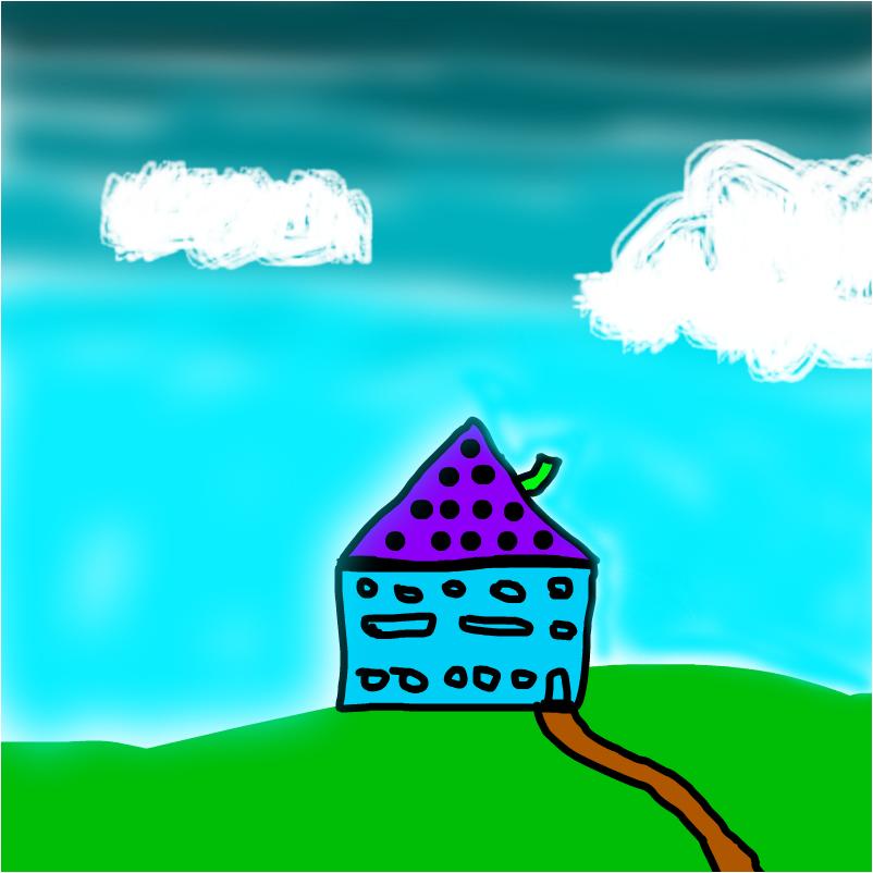 обычный домик