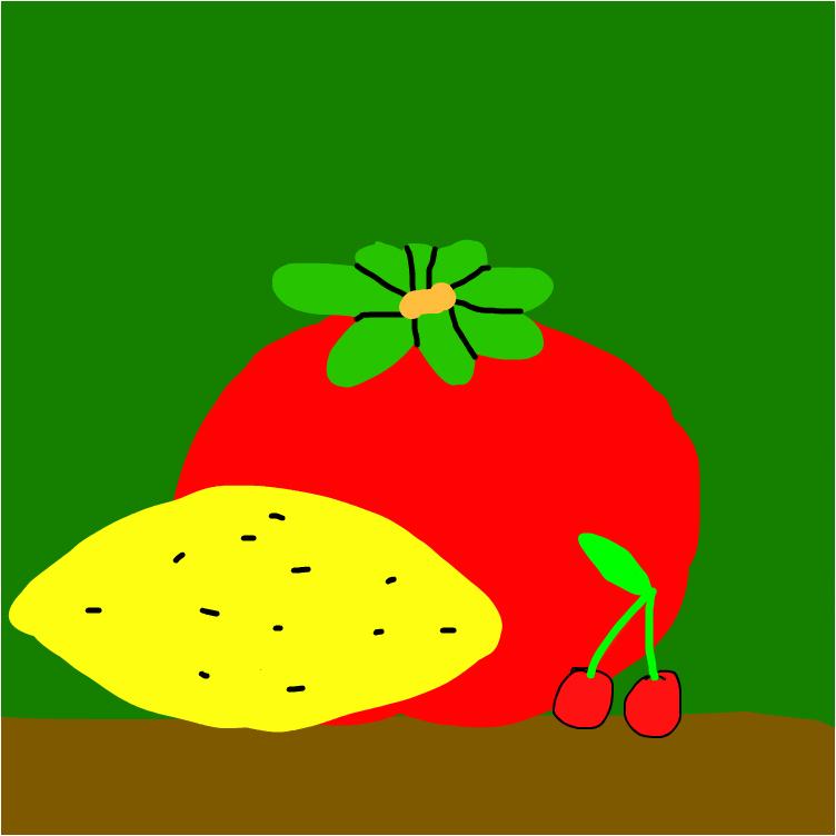 помидор вишенки и лимон