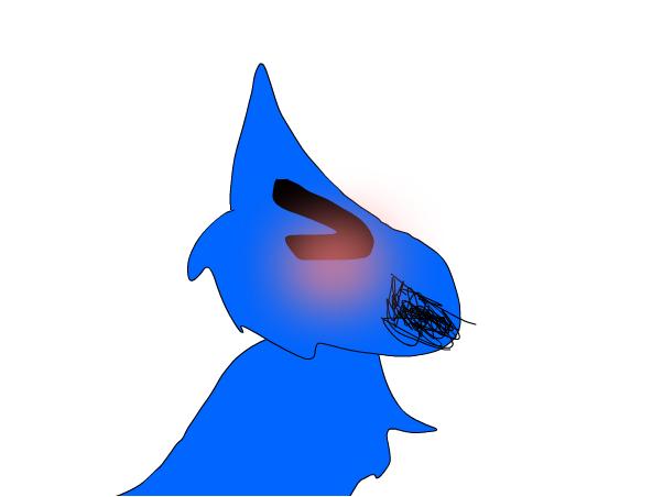 Blue Cat Oc!!! :)
