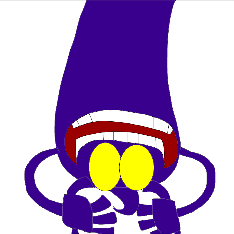 purple bomber in mixels style