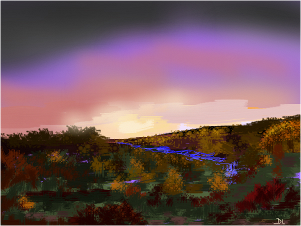 Sunday Sunrise on the Valley