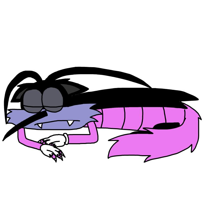 Sleeping Wereroach Joey