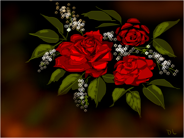 For Love of  Roses
