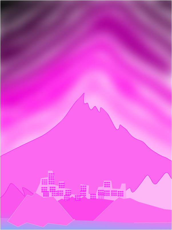 розовая гора И ГОРОДОК