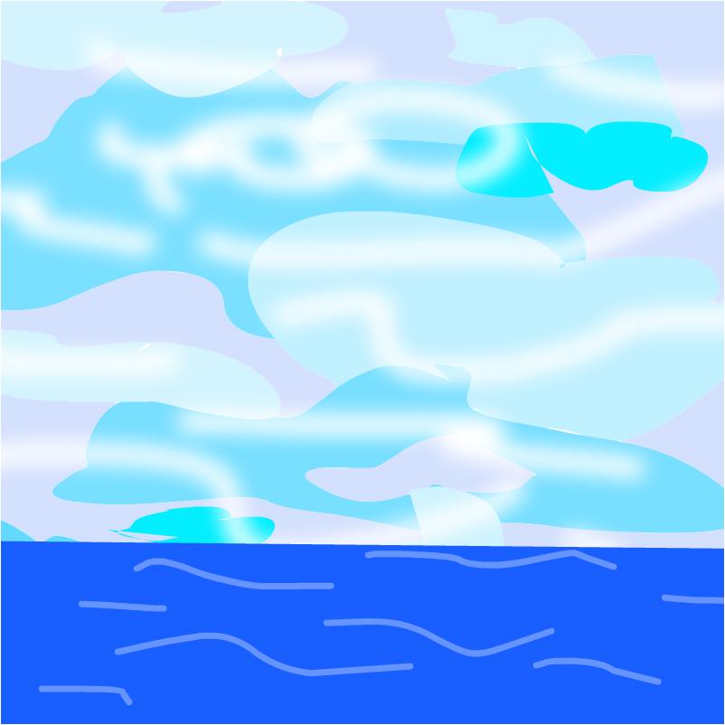 Океан и облакакашки
