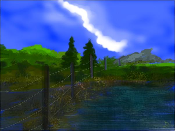 pasture stream