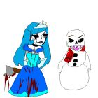 prinacess frost and jack frost