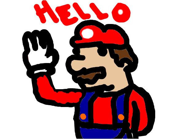 mario says hello