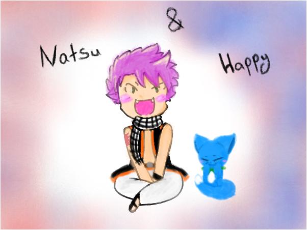 Natsu & Happy