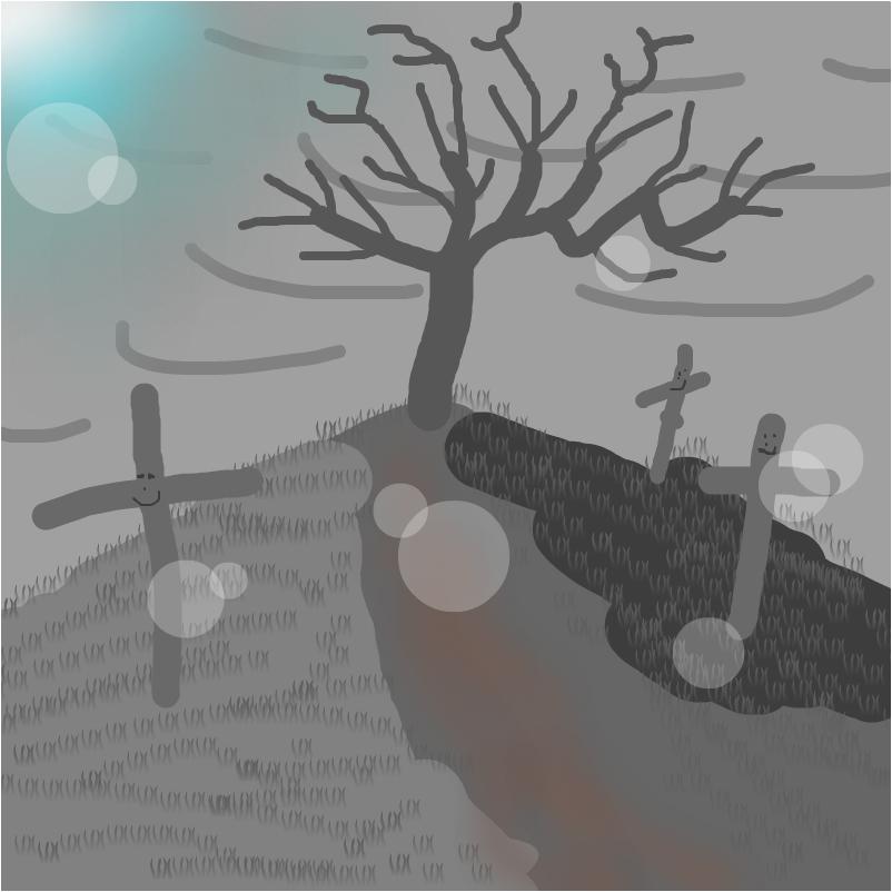 Мрачное, НО прекрасное кладбище