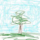 """Дерево в стиле ,,КАКА"""""""