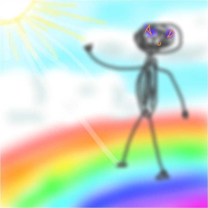 Идущий по радуге