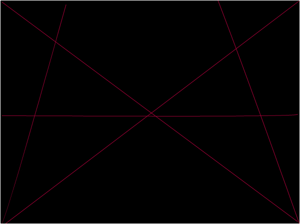 red of lines