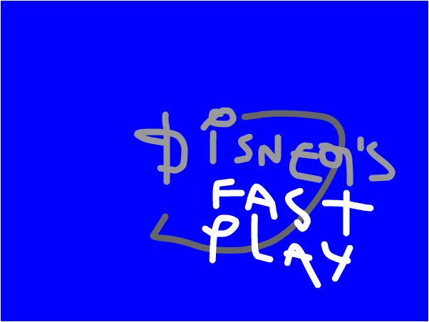 Homemade IDs: Disney's Fast Play