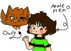 Owly and AppleHead