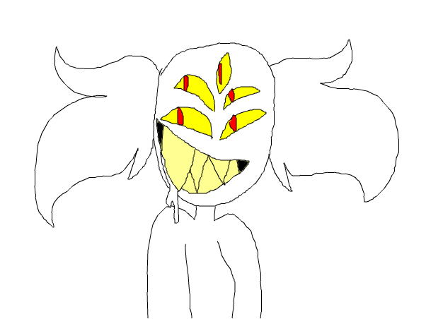Eyeball the disgusting demon