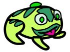 zuma frog art art