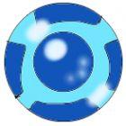 zuma deluxe art  ba bomb blue