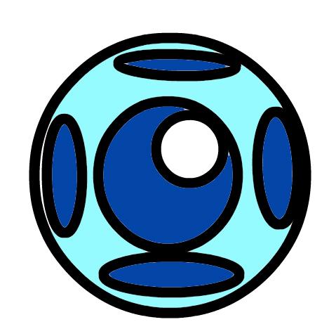 ba bomb blue zuma deluxe art