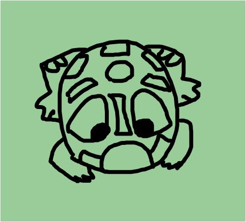 zuma frog art 3