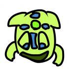 art zuma frog