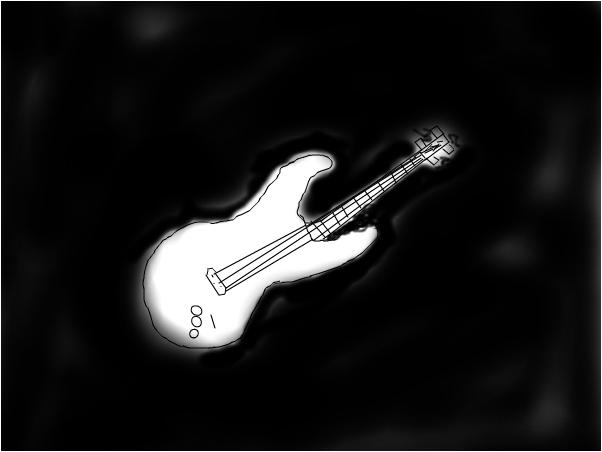 A bad guitar