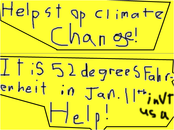 HELP STOP CLIMATE CHANGE!