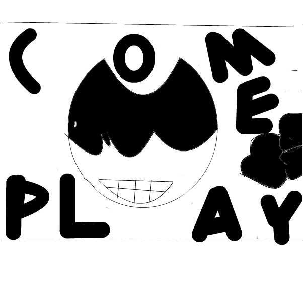 inky bendy poster