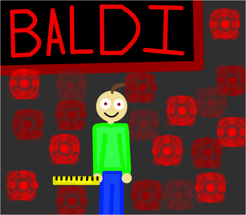When you get a answer wrong in Baldis Basis