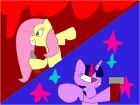 Fluttershy vs Twilight Sparkle