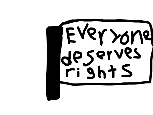 Flag of rights