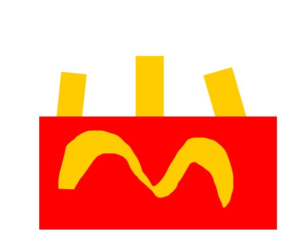 Mcdonald's potato fries